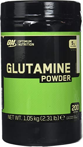 Optimum Nutrition Glutamine powder, unflavoured, 2.2 LB 1000 gram 194 servings