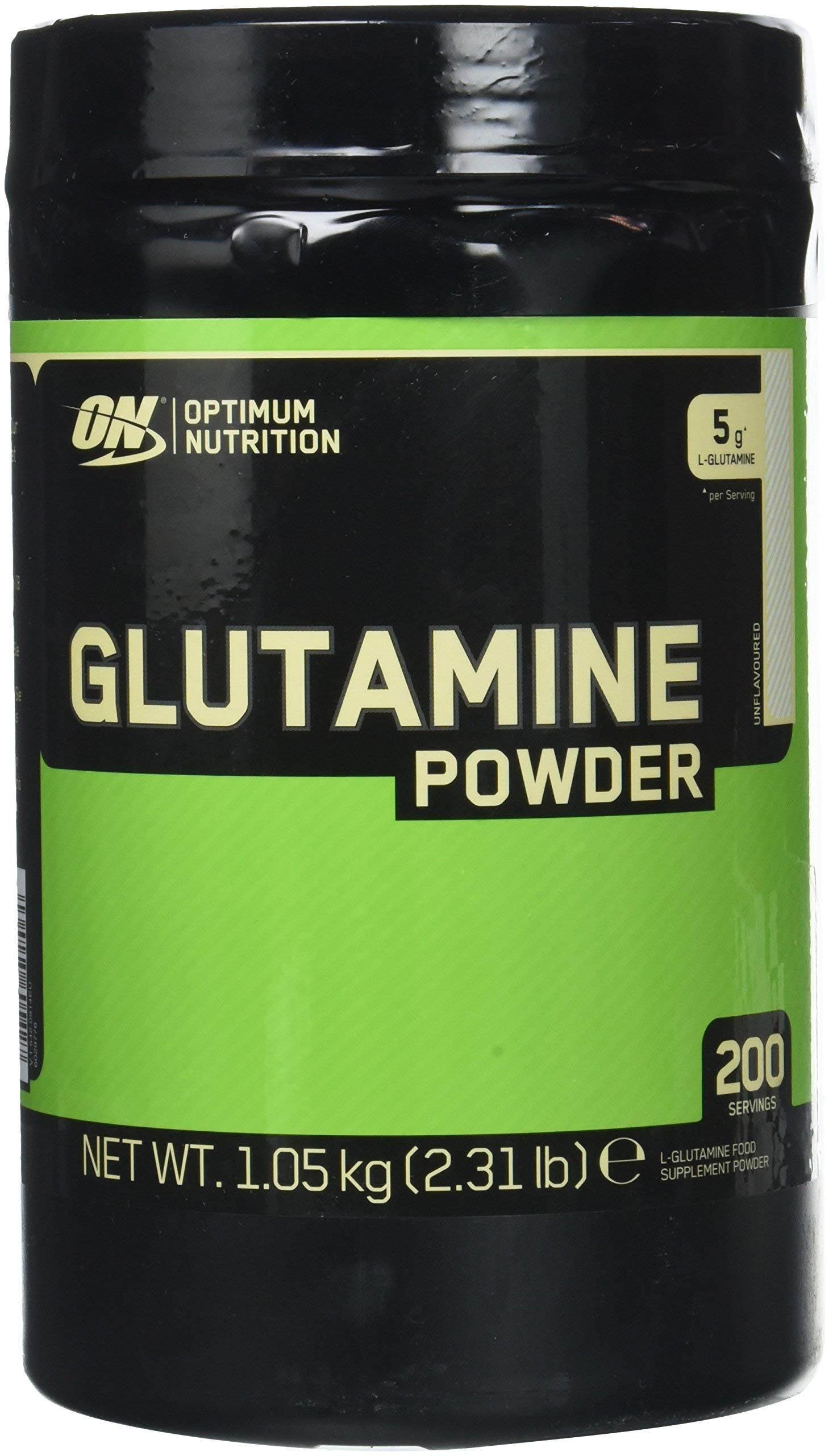 Optimum Nutrition Glutamine powder, unflavoured, 2.2 LB (1000 gram) 194 servings by Optimum Nutrition