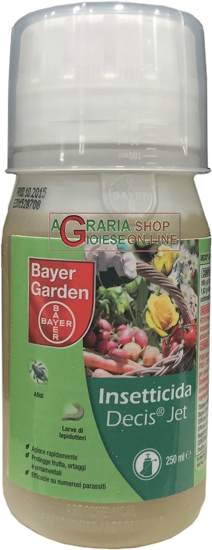 Bayer Decis jet insecticida a base de deltametrín 250 ml