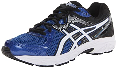 ASICS Men's Gel Contend 2 Running Shoe,Royal/White/Black,8 M