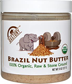 product image for Dastony, 100% Organic Brazil Nut Butter, 8 oz