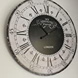 large round wooden wall clock kensington london station wall clock wall clock60 cm