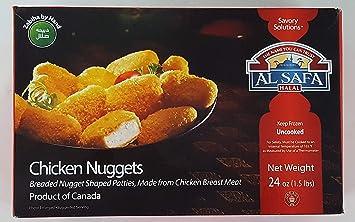 Al Safa Halal Breaded Chicken Nuggets 1 5lb: Amazon com