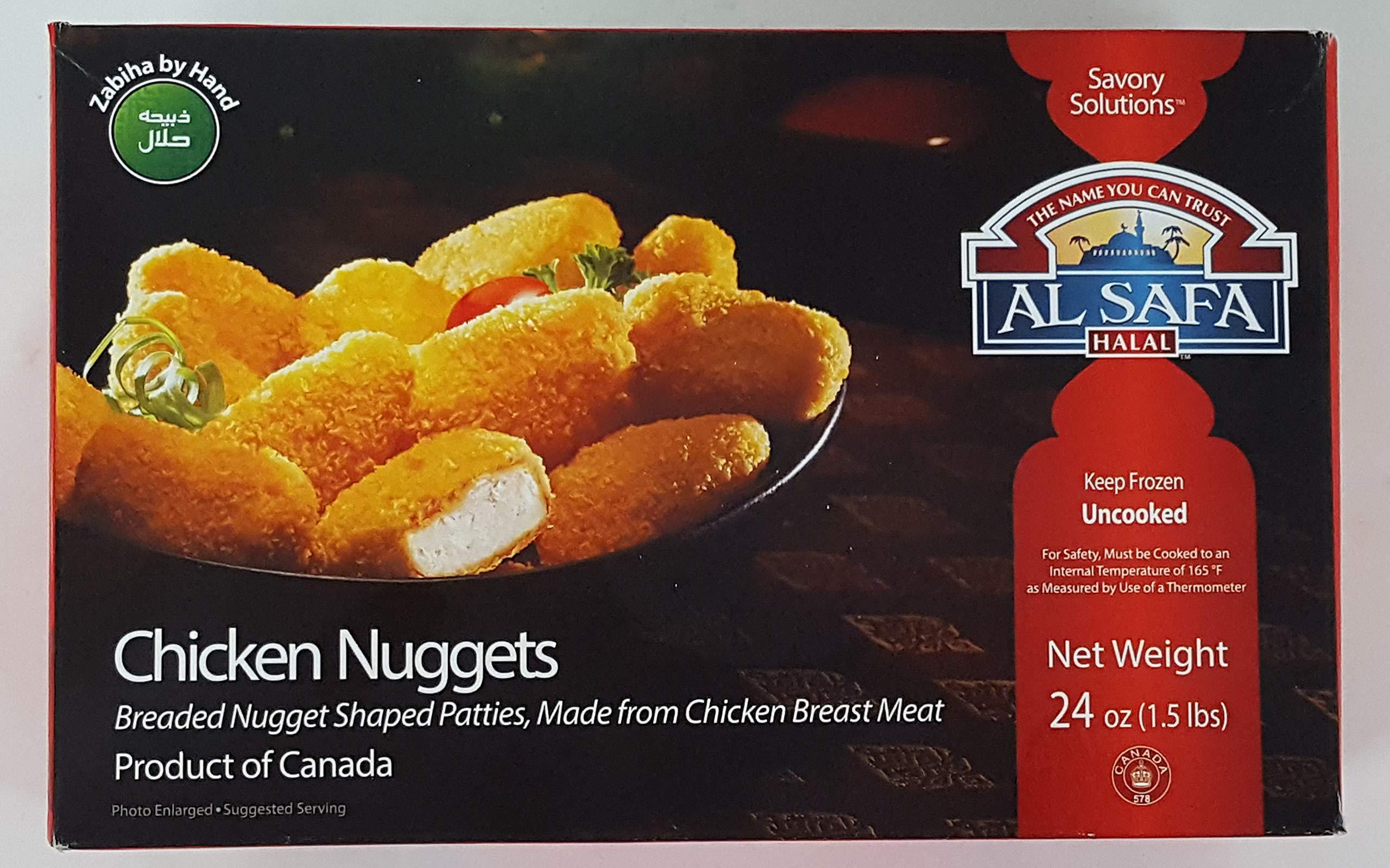 Al Safa Halal Breaded Chicken Nuggets 1.5lb