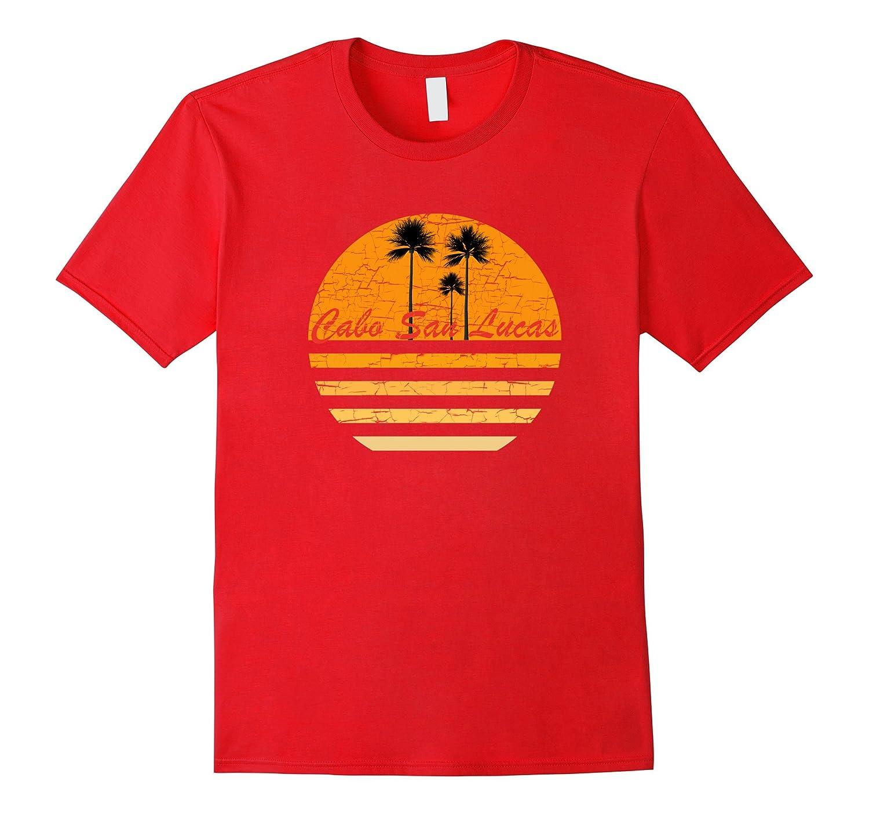 Cabo San Lucas Vintage Retro T-Shirt 70s Throwback Surf Tee-Art