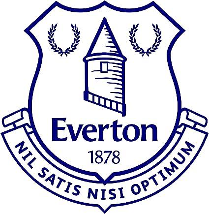 7aac3f80d24ac Amazon.com: Maple Enterprise Everton Football Club Decal Sticker 6 ...