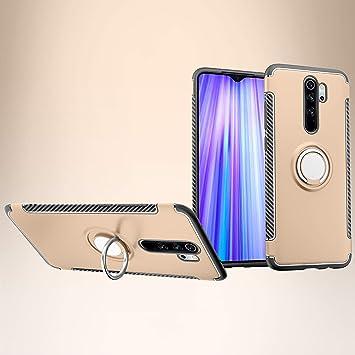 Custodia® Firmness Smartphone Funda Carcasa Case Cover Caso con Anillo para Xiaomi Redmi Note 8 Pro(Oro): Amazon.es: Electrónica