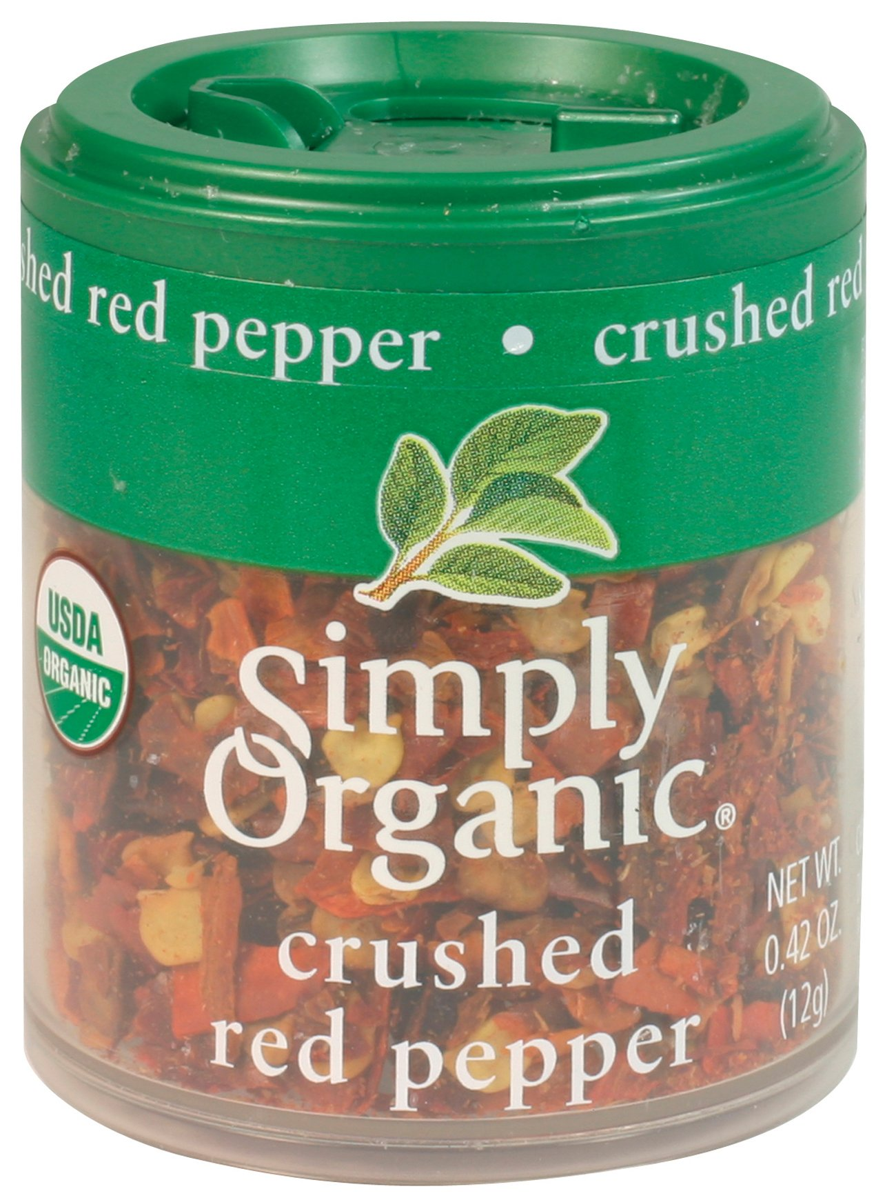 Simply Organic Red Pepper Crushed Certified Organic, 0.42-Ounce (Pack of 6) by Simply Organic (Image #2)