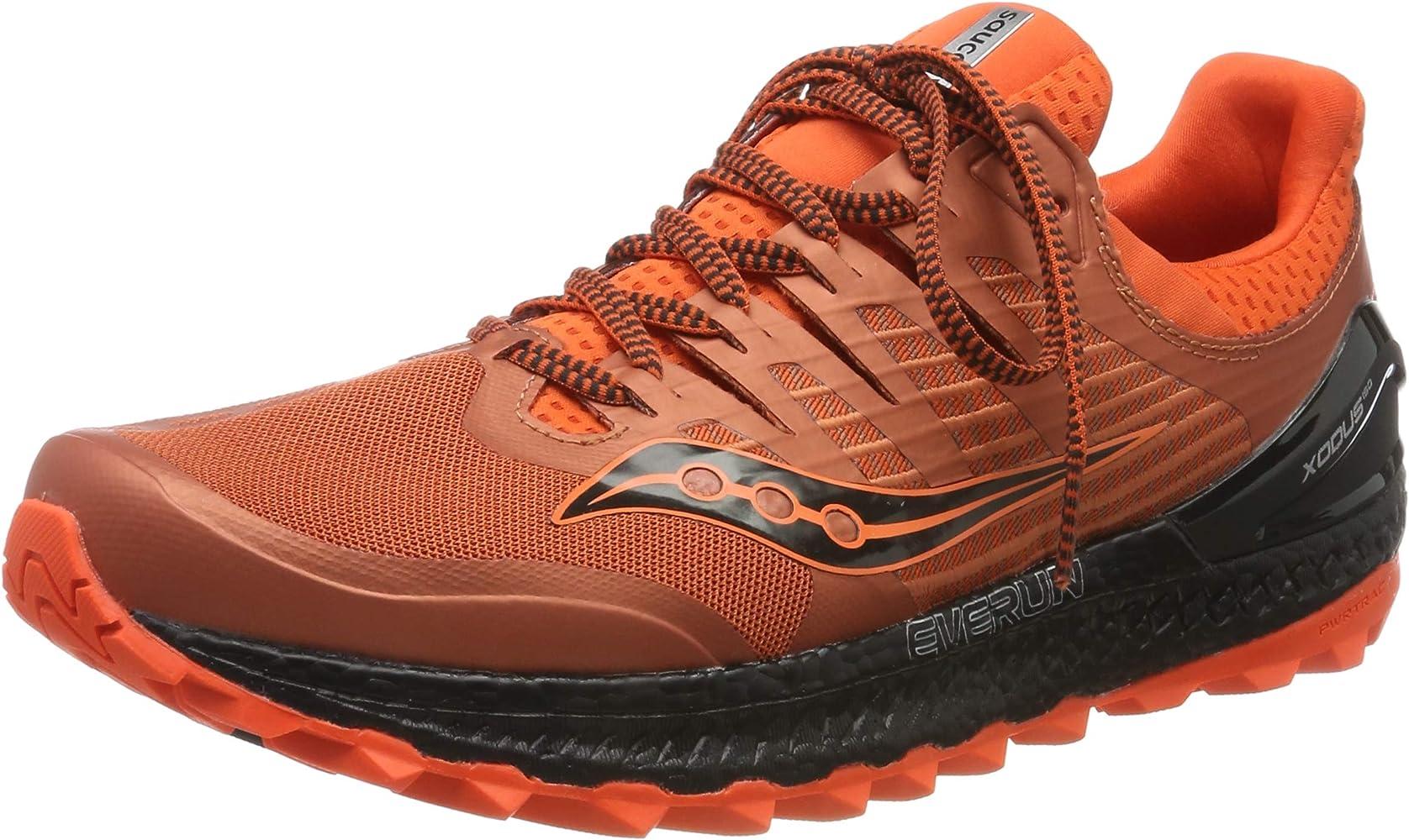 saucony trail hombre naranja