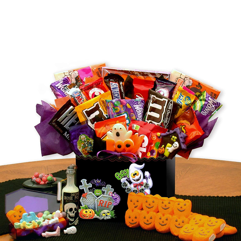 Amazon.com  Skeleton\u0027s Surprise Halloween Gift Basket