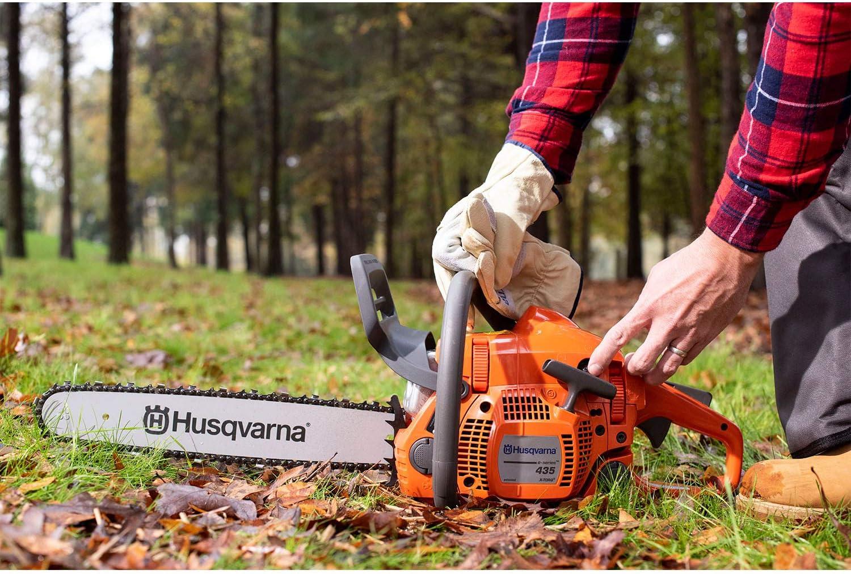 2. Husqvarna 435E II Gas Chainsaw