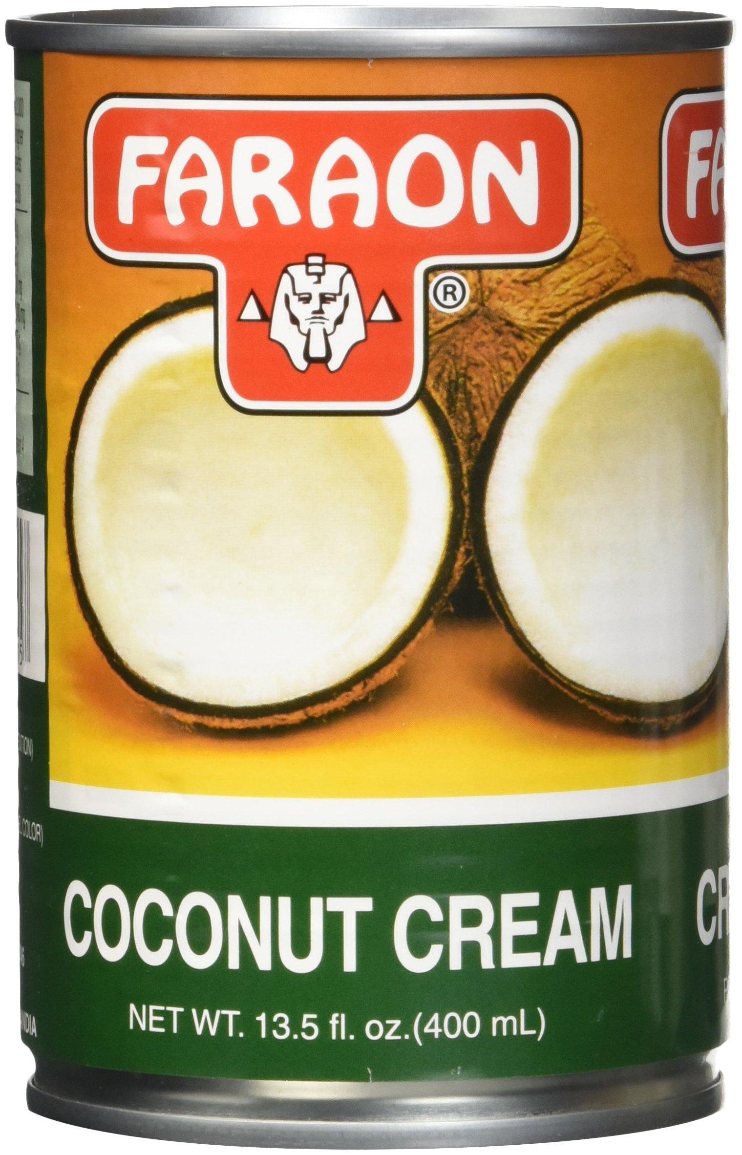 FARAON Coconut Cream, 13.5 Ounce (Pack of 12)