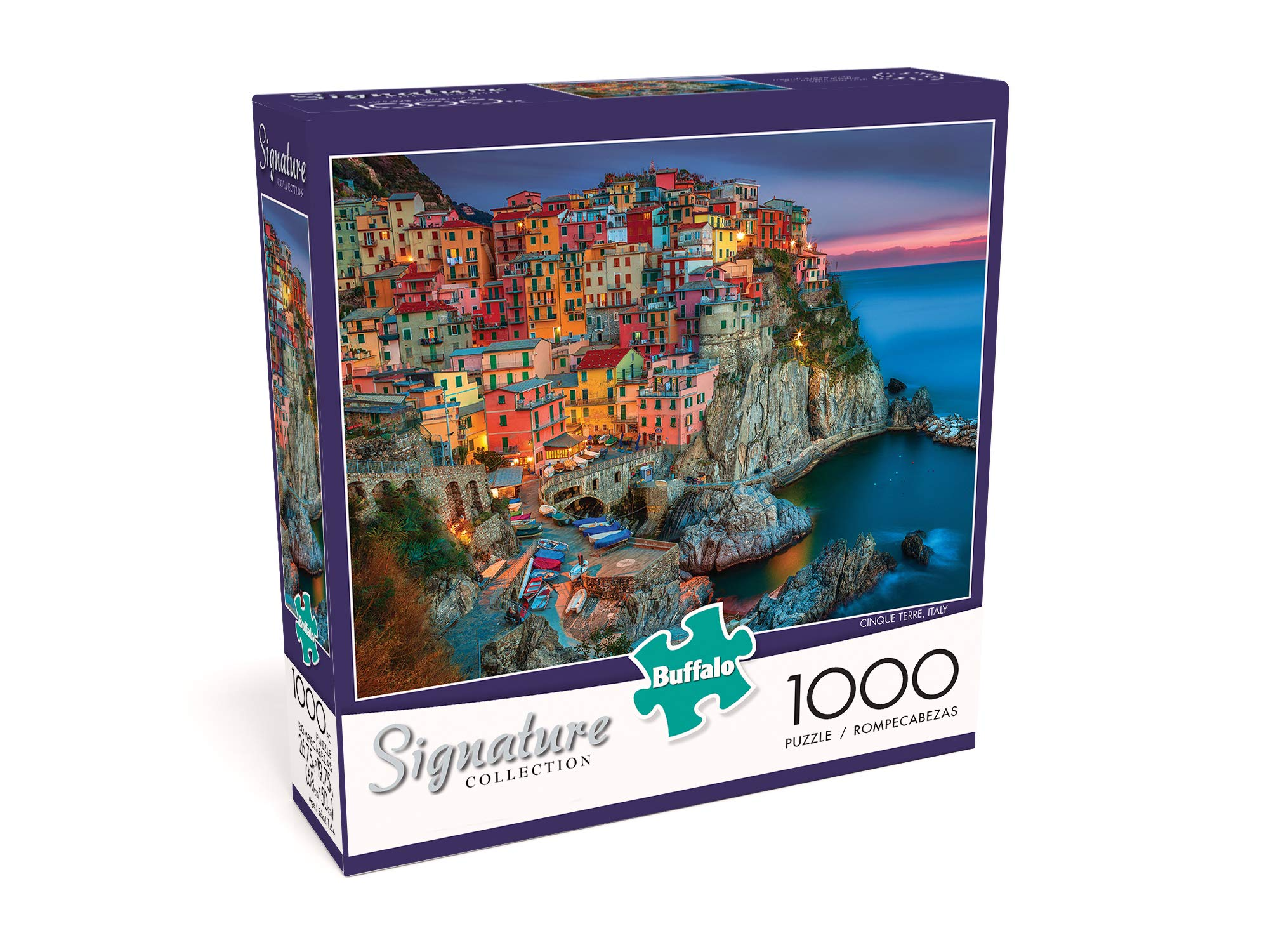 Buffalo Games - Signature Collection - Cinque Terre - 1000 Piece Jigsaw Puzzle by Buffalo Games (Image #3)
