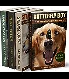 Avery Barks Dog Mystery Series Boxed Set (Books 1 - 4) (Avery Barks Dog Mysteries)
