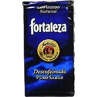 Café Fortaleza Café Molido Descafeinado - 250 gr - [Pack de 3]