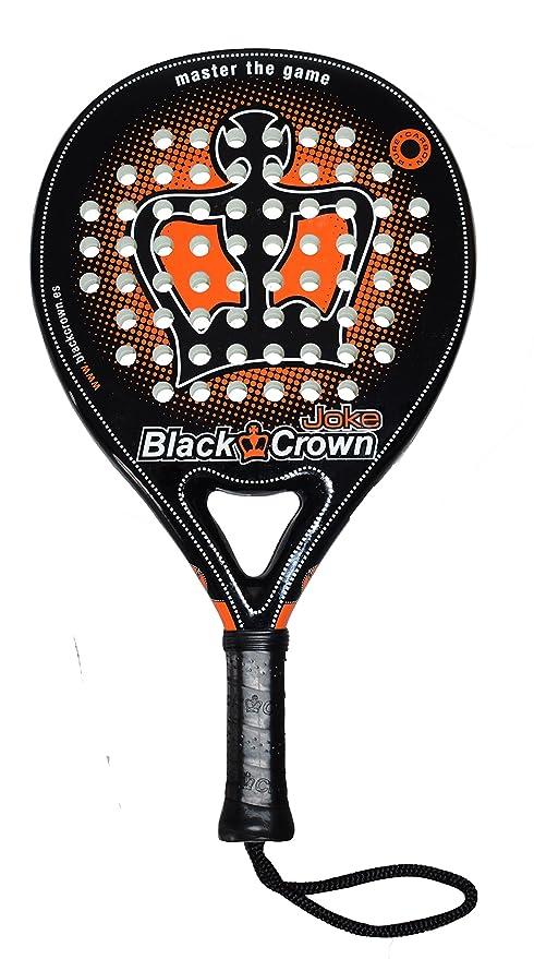 Black Crown Joke Pala de Padel, Adultos Unisex, Negro Naranja, L: Amazon.es: Deportes y aire libre
