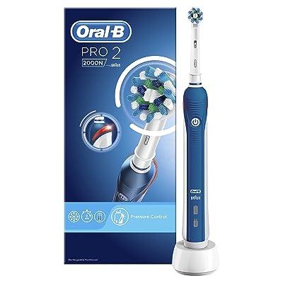Oral-B PRO 22000N - Cepillo de dientes eléctrico recargable con tecnología de Braun y un cabezal de recambio