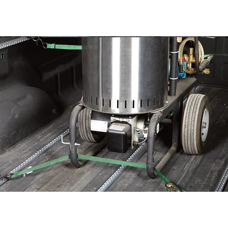 2 Pack - 4 FT Aluminum Logistic Track, 1,600 Breaking Strength, Black Color, Model#30170, Value Pack, Bonus 4 PCS Aluminum Track Fittings