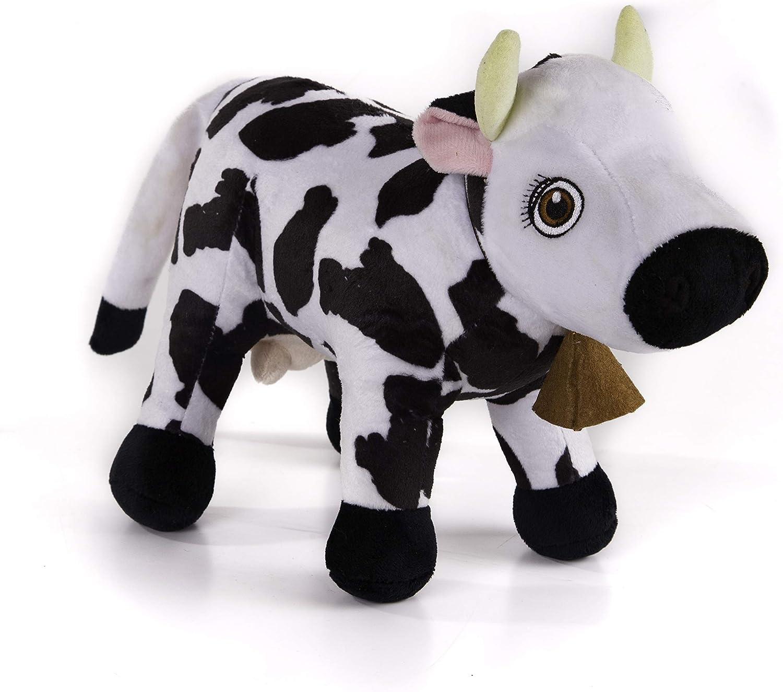 La Granja de Zenón - Peluche DX Musical Vaca Lola (Bandai, 80003): Amazon.es: Juguetes y juegos