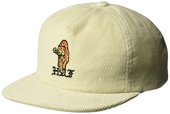 558553b60 Amazon.com: HUF Men's CASE Closed Strapback HAT, Birch, O/S: Clothing