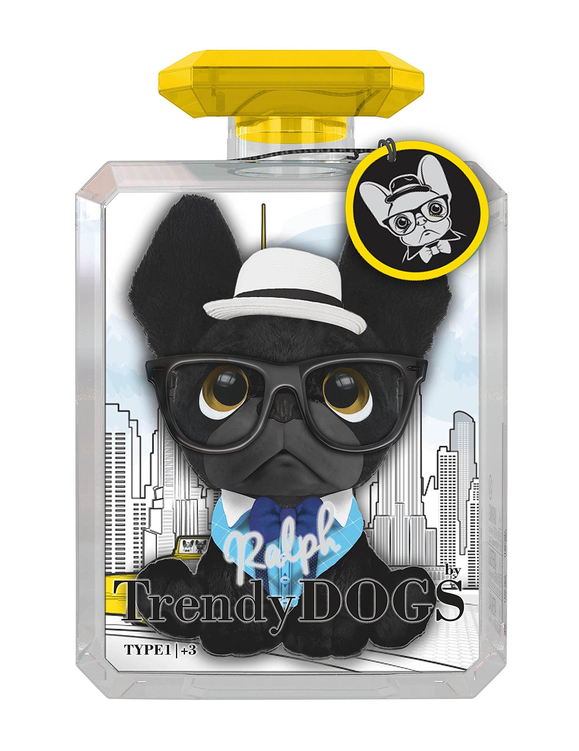 Intek Toys Trendy Dogs - Ralph - 8'' - Stuffed Toy