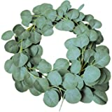 Mandy's 1pcs Artificial Silk Eucalyptus Leaves for Home Wedding Decoration