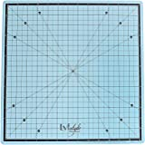 Lyfstyle Rotating Self Healing Cutting Mat / 14x14 inch / Icy Blue