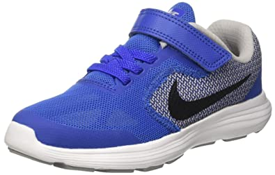 new arrival 75f26 3c6e1 Nike Boys Revolution 3 (PSV) Competition Running Shoes, Multicolour (Game  Royal
