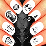 Nail Art Decals Set 3d Diy The Nightmare Before Christmas Halloween