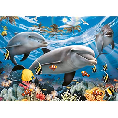 Ravensburger Caribbean Smile 60 Piece Jigsaw Puzzle for Kids – Every Piece is Unique, Pieces Fit Together Perfectly: Toys & Games