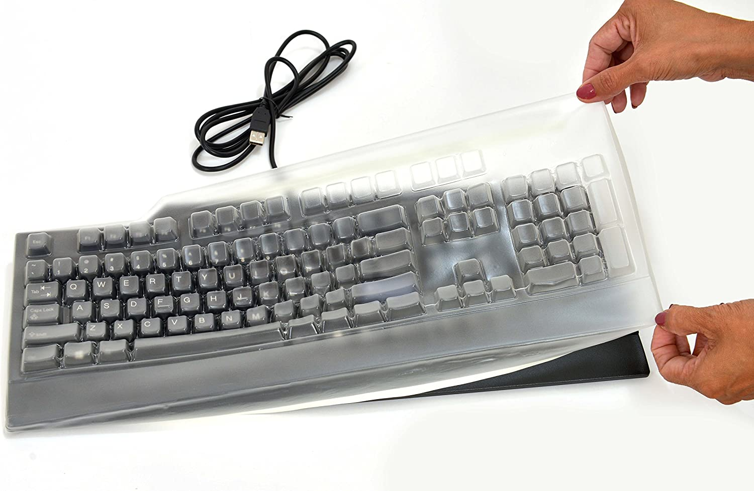 Comp Bind Technology Compatible Polyurethane LATEX FREE Keyboard cover Replacement for IBM/Lenovo KU-0225.