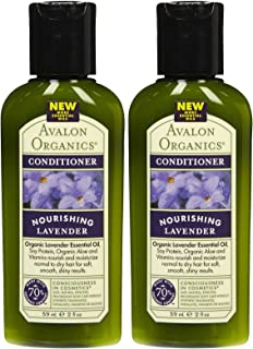 product image for Avalon Organics Nourishing Conditioner - Lavender - 2 oz - 2 pk