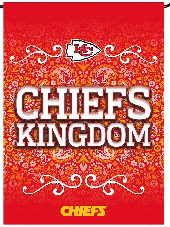 Kansas City Chiefs Rico Premium Beidseitigen Garten Flagge Im House Banner Fußball Sport Freizeit
