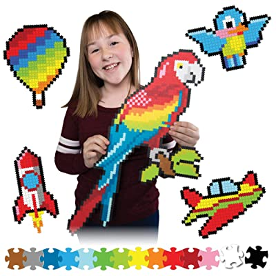 Fat Brain Toys Jixelz 1500 pc Set - Up in The Air Arts & Crafts for Ages 6 to 12: Toys & Games
