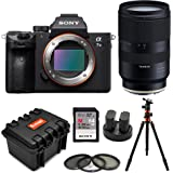 Sony a7 III Full Frame Mirrorless Interchangeable-Lens Camera (Body Only) w/Tamron 28-75mm f/2.8 Di III RXD Lens for Sony E Bundle