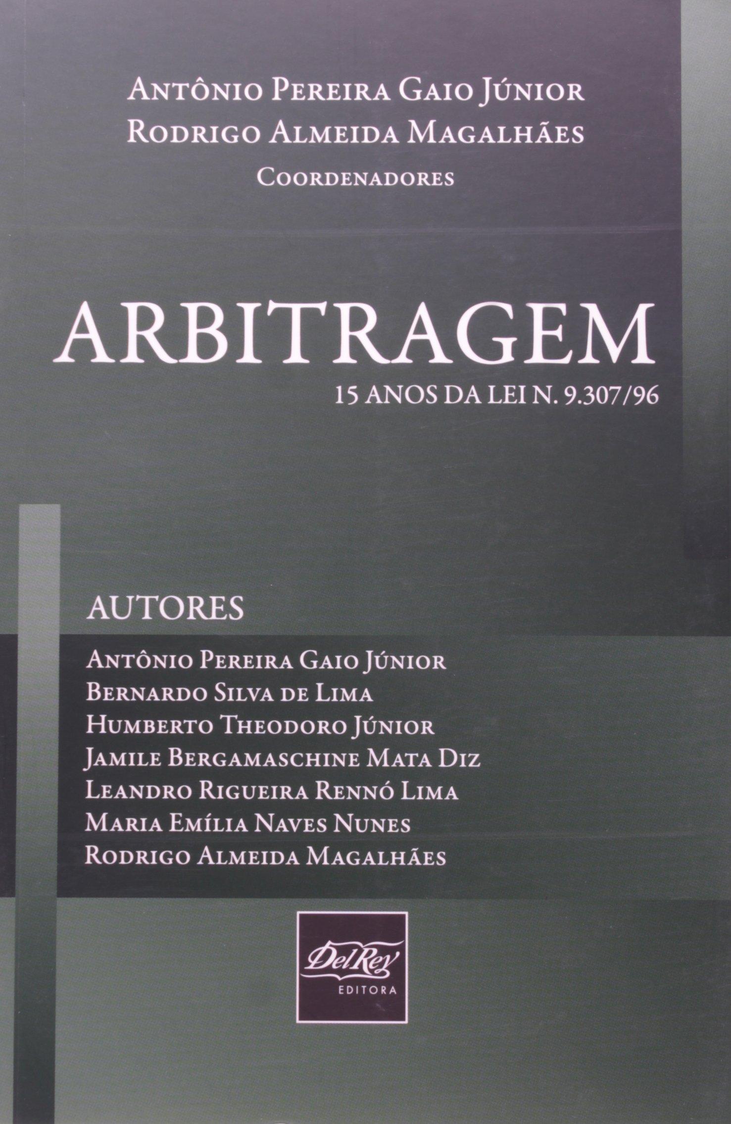 Download Arbitragem. 15 Anos da Lei 9.307/96 pdf