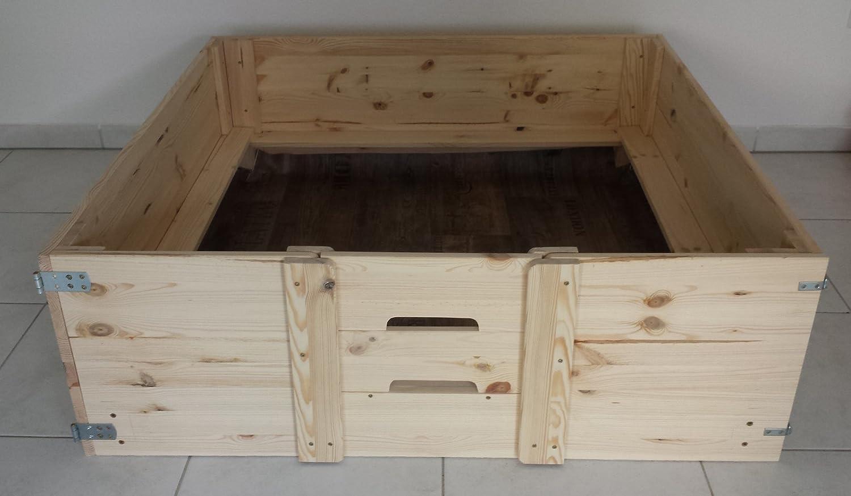 wurfkiste wurfbox f r hunde kein schrauben mehr n tig 120 x 120 cm online kaufen. Black Bedroom Furniture Sets. Home Design Ideas