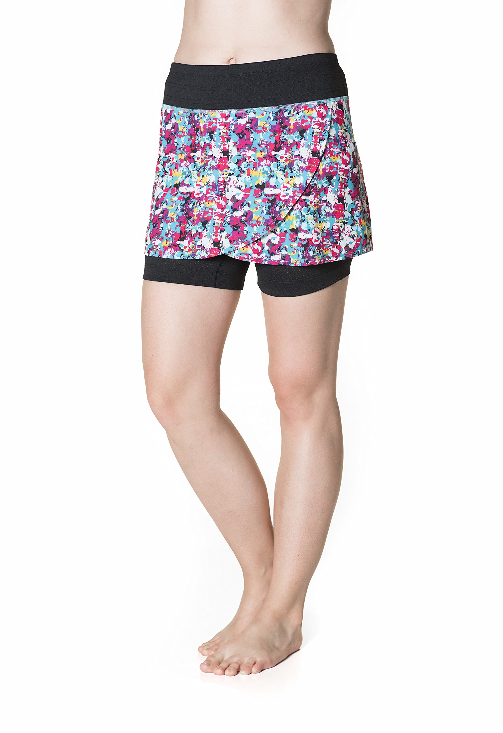 Skirt Sports Women's Hover Skirt, Holiday Print, X-Large by Skirt Sports