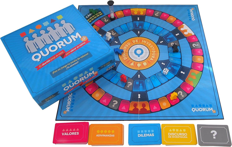 Quorum Life - Juego de mesa para educar en valores: Amazon.es ...