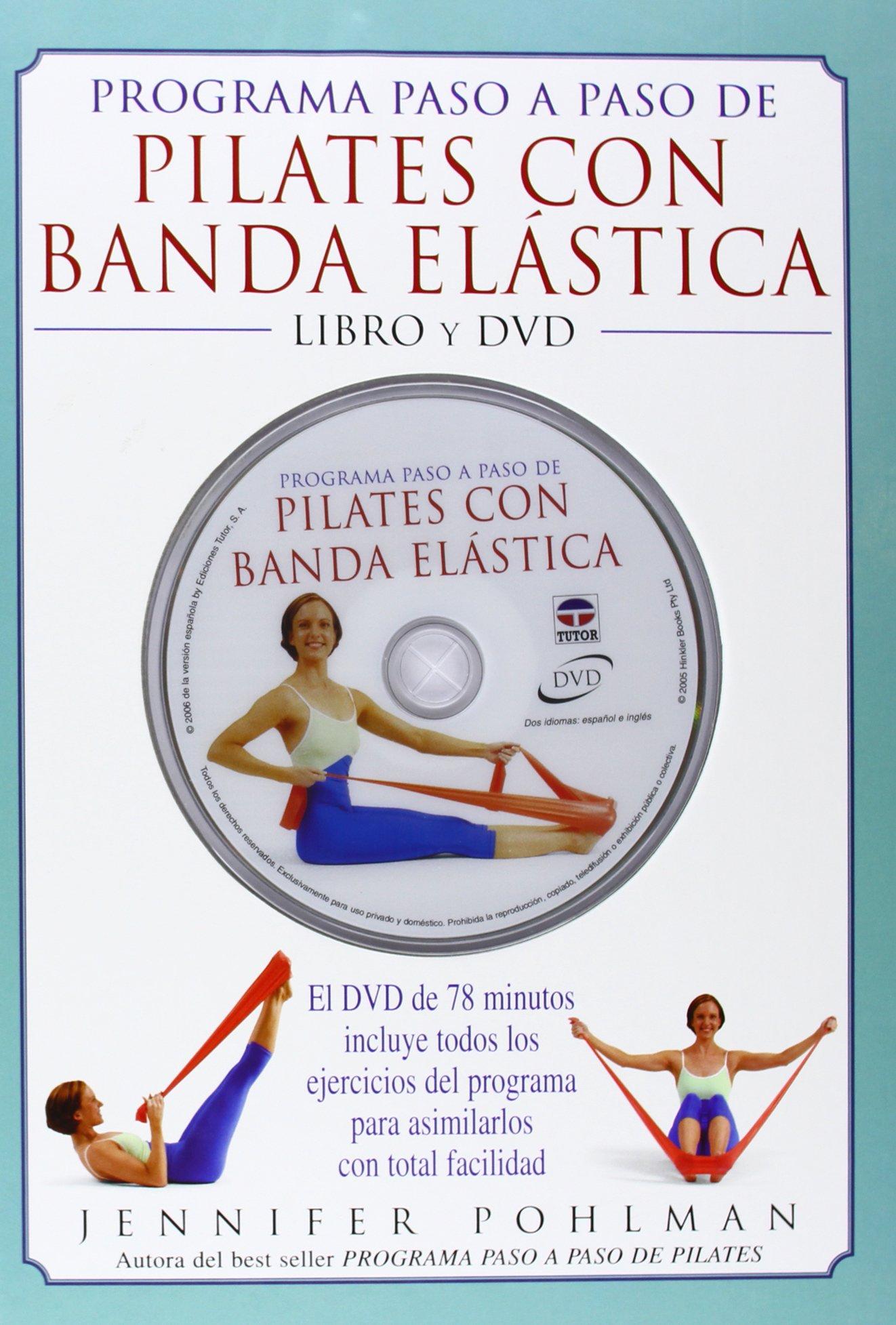 Programa paso a paso de pilates con banda elastica/ Simply ...