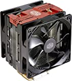 Cooler Master Hyper 212 Led Turbo Red Cover Xtraflo 120Mm Pwm Fan with Quick-Snap Fan Bracket Design (Rr-212Tr-16Pr-R1)
