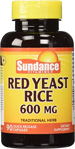 Sundance Red Yeast Rice Capsules, 90 Count
