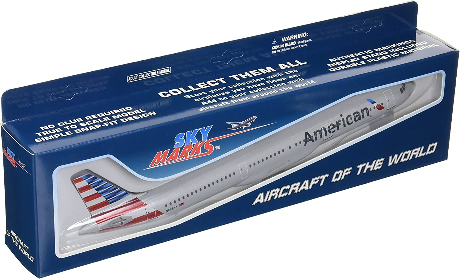 Daron Skymarks American A321 New Livery Aircraft (1/150 Scale)