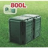 Prosperplast Module composteur Vert 800l