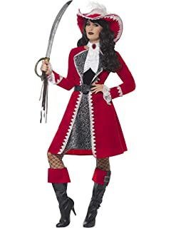 Amazon.com: Womens Captain Hook Costume: Clothing