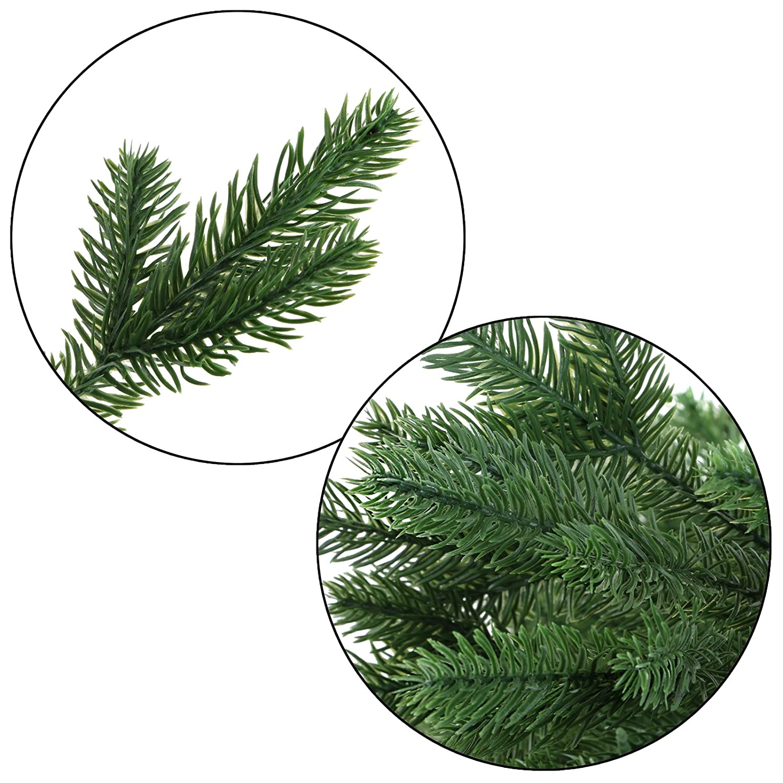 Árbol de Navidad de lujo WINTERZAUBER Abeto de Navidad artificial en ...