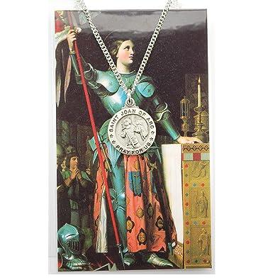 Amazon st joan of arc medal pendants jewelry st joan of arc medal aloadofball Gallery