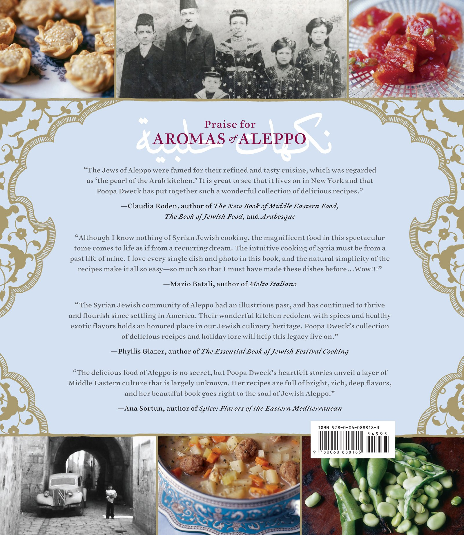 Aromas of aleppo the legendary cuisine of syrian jews poopa aromas of aleppo the legendary cuisine of syrian jews poopa dweck michael j cohen quentin bacon 9780060888183 amazon books forumfinder Images