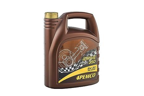 Pemco Aceite de Motor 5w30 Longlife iDrive 350 Lubricante Sintético para Vehículos Gasolina y Diésel C3