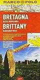 Bretagna, Bassa Normandia. 1:300.000. Ediz. multilingue